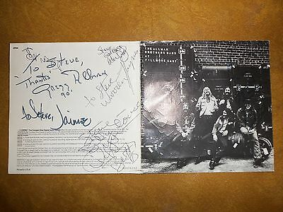 "Allman Brothers Band ""Autographs"""