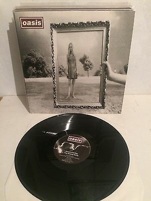"""Oasis - Wonderwall  / Round Are Way / Swamp Song 12"""" Maxi Vinyl CRE215T M=/M="""