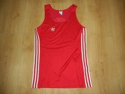 ADIDAS   RETRO VINTAGE 80's  MEN SHIRTS SIZE D7 UK 42  MADE IN WEST GERMANY