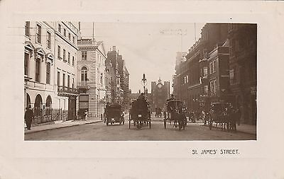 RP Postcard. St. James Street. Posted 1909.