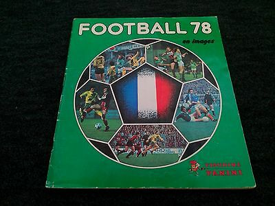 Panini - vignettes Football 78