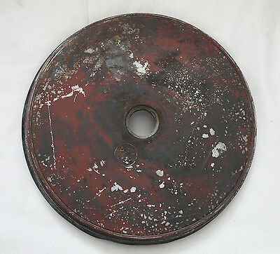 german orig. transport COVER for  tmi orig paint, stamped, tmi  35 (wheel cover)