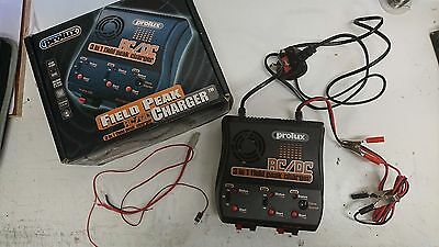 Prolux Field Peak 3-In-1 Ac/Dc battery Charger For 1-8 Cell Nimh Nicd - PX3706