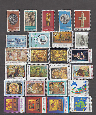 Cyprus Commemoratives Mint Hinged Selection