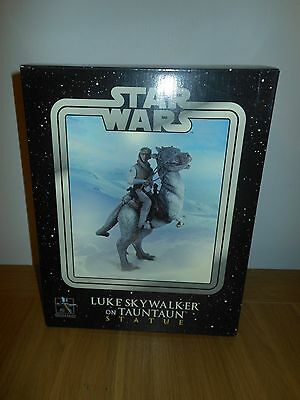 Star Wars Luke Skywalker On Tauntaun Statue Empire Strikes Back Gentle Giant