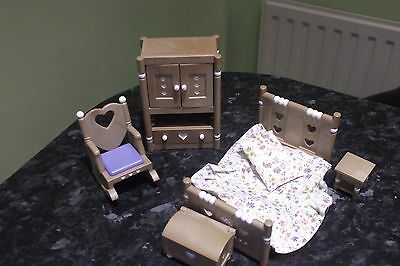 Sylvanian families country bedroom set