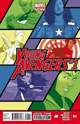 Young Avengers Vol 2 #1