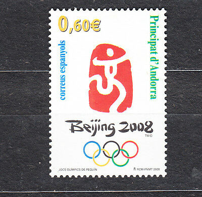 Andorra 2008 Beijing Olympic Games Mint Never Hinged