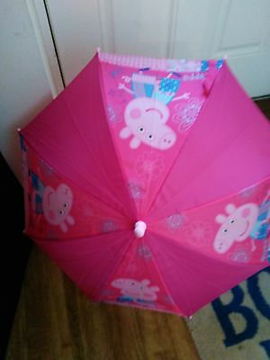 Peppa Pig - Hat Scarf and Umbrella - Used Aged 1-3 years girls