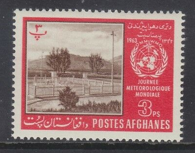 Afghanistan 1962 - Giornata Meteorologica Mondiale - P. 3 - Mnh