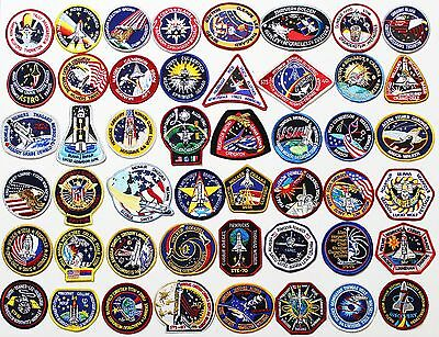 Lot of 48 NASA STS Space Shuttle Mission Astronaut Crew Patches - Best Buy