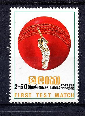 Sri Lanka (1004) 1982 First Sri Lanka test match, Colombo Lightly mounted