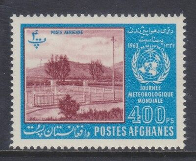 Afghanistan 1962 - Giornata Meteorologica Mondiale - P. 400 - Mnh