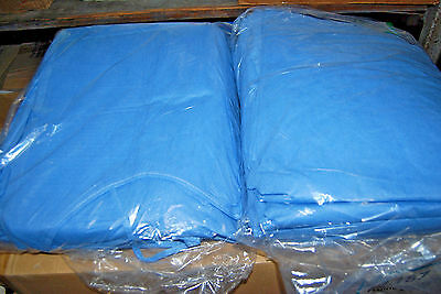 1-Lot of 20 / FluidGard Disposable Blue Procedure Gowns (X-Large) (NEW) (#S7089)