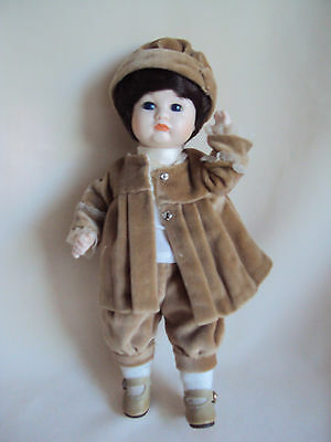 "Vintage Bisque Doll 10.75"" Tall"