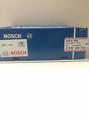 New Bosch Exact 908 Screwdriver without battery/ max. torque 8 Nm/ 900 min-1