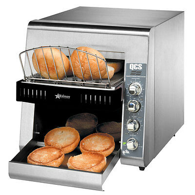 """Star Qcs2-600H Commercial Conveyor  Toaster With 3"""" Opening For Bagels"""