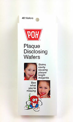 Plaque Disclosing Tablets For Better Brushing - 40 tablets, BEST SELLER