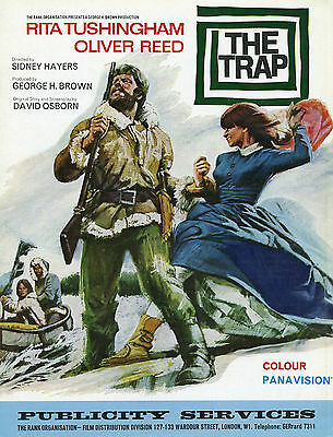 """""""Trap""""  – 1966 Oliver Reed"""