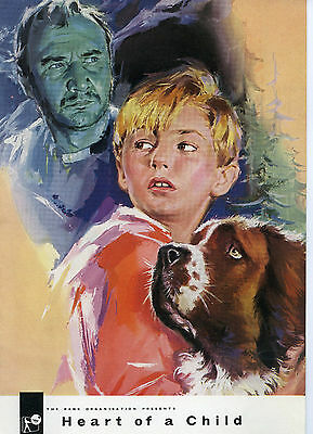"""""""Heart of a Child"""" –  1958 Campaign Book - Donald Pleasence"""