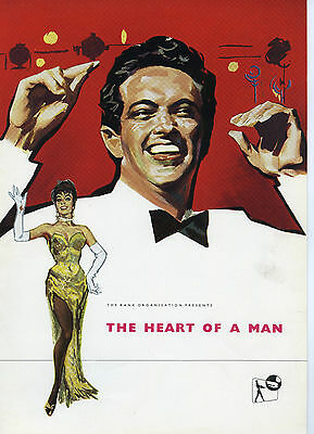 """""""Heart of a Man"""" – 1959 Campaign Book -  Frankie Vaughan"""