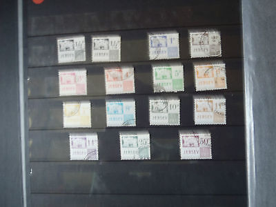 Jersey Definitives Postage to Pay