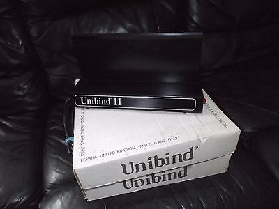 Unibind 11 Thermal Binding Machine - Book WITH COVERS