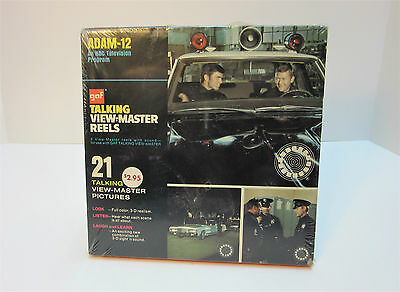 GAF Adam 12 TV Show Talking View - Master Reels Factory Sealed 1972