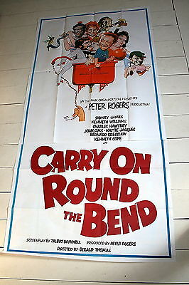 CARRY ON ROUND THE BEND - 1971  Original 2 Sheet Poster