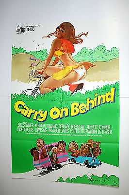CARRY ON BEHIND - 1976  Original one sheet Poster