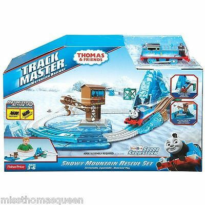Thomas The Tank Engine Trackmaster SNOWY MOUNTAIN RESCUE SET New in Box