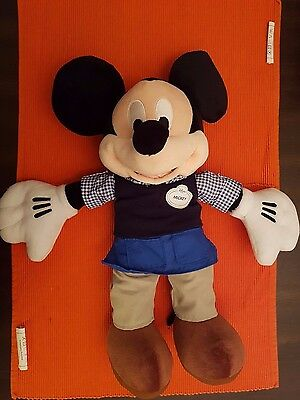 Disney Exclusive Mickey Mouse Plush Never Used.