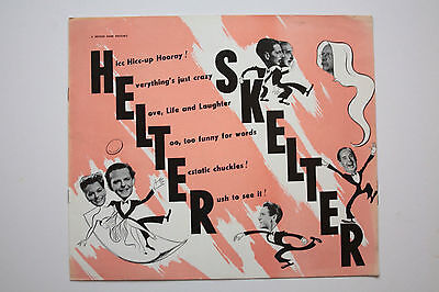HELTER SKELTER - 1949 Original Campaign Book. Terry Thomas