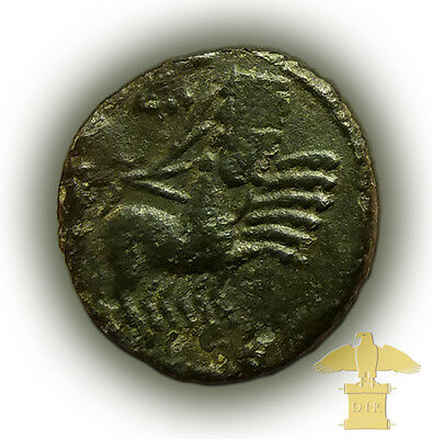 ROMAN COIN VERY RARE Constantine I. the Great -Cult Heaven Horse POSTHUMOUS