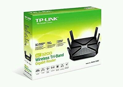 *NEW* TP-Link AC3200 Wireless Wi-Fi Tri-Band Gigabit Router (Archer C3200)