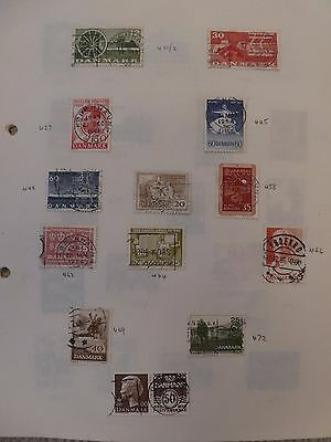 Denmark collection of 111 stamps - see all scans