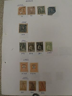 Angola collection of 39 stamps - see all scans