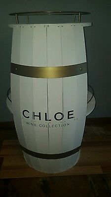 (L@@k) Chloe Wine Giant Wooden Beer Liquor Barrel Shelf Winery Bar Pub New