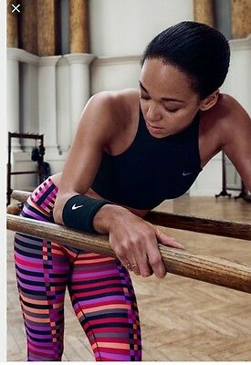 Nike Legendary Tight Fit Running Tights Size L Uk 12 100% Authentic Rrp $150