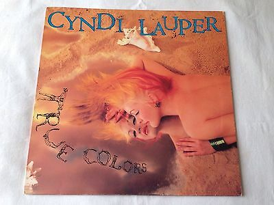 Cyndi Lauper True Colors Rare Demo Copy W/inner Lp 1986 Uk Original Nm