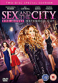 Sex And The City - The Movie (DVD, 2008, 2-Disc Set)