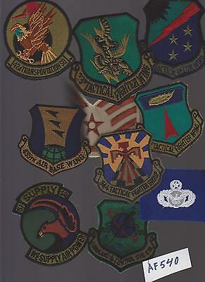 Lot Of Air Force  Military Patches (Af540)