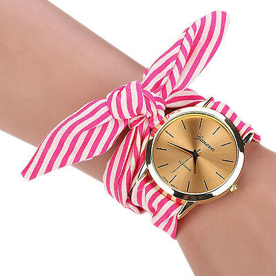 Fabric Band Wish Bracelet Watches/Bridal/Bridesmaids Gift/In: 3 Different Colors