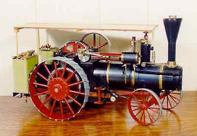 Replica Live Steam Traction Engine Plans and Instructions