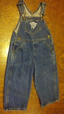 Boys/Girls Toddler Baby GUESS Overalls Denim Kids Bib Jeans Size 2T - USA CUTE~