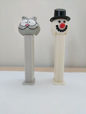 Nermal and Slovenian-made Frosty PEZ Dispensers.