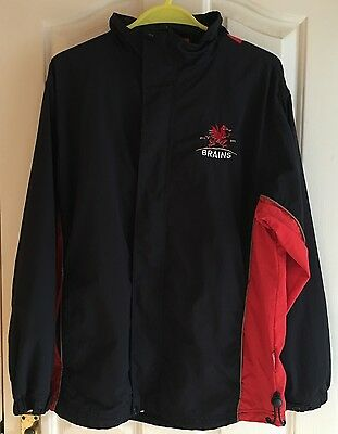 Brains Beer Jacket Official Merchandise, Size Small - Used