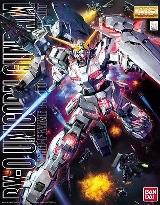 BANDAI MG 1/100 RX-0 UNICORN GUNDAM Plastic Model Kit Gundam UC from Japan