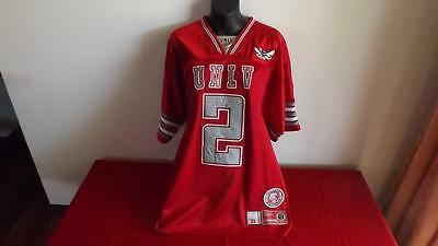 Unlv Rebels  College Equipment Offical No2 Jersey In Like New Cond Size M