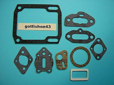 Vintage McCulloch Chainsaw 9Pc Gasket Set McCulloch 55 10-10 700 10-10S 4300 555